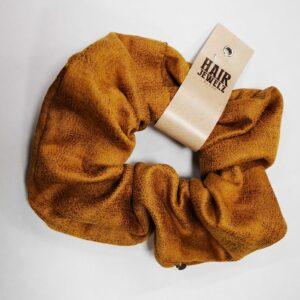 scrunchie geel